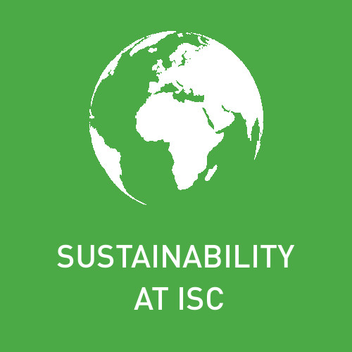 Sustainability at ISC